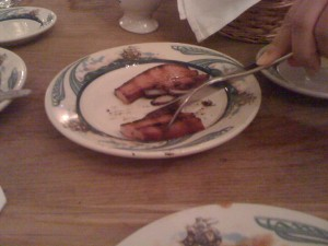 Peter Luger's Bacon