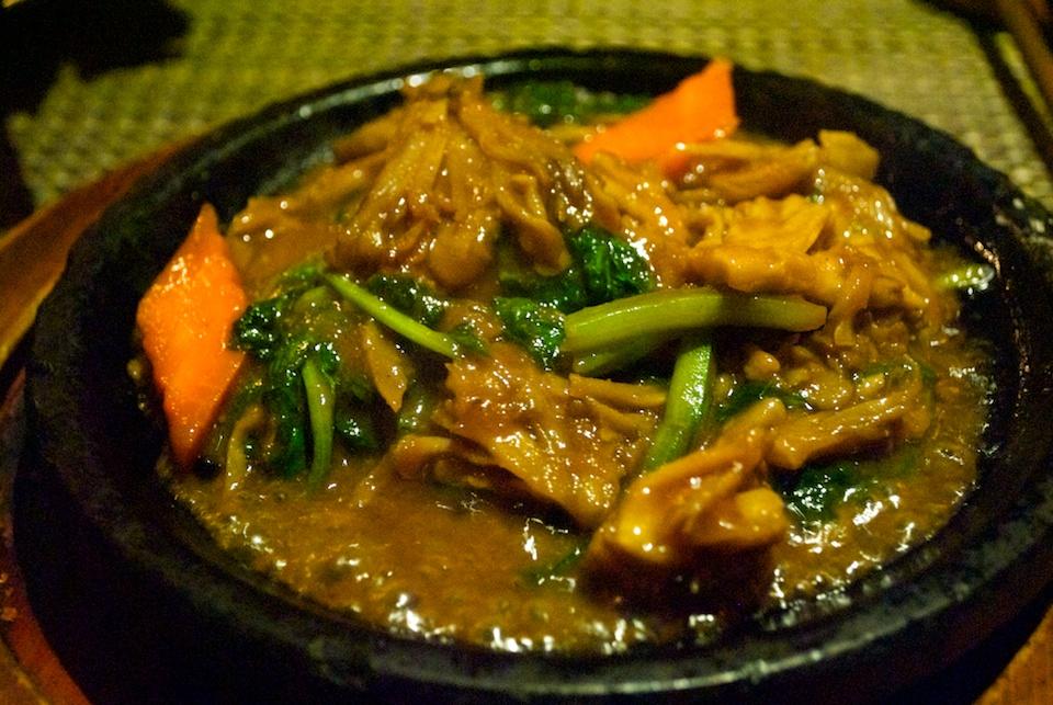 Savory mushroom dish at Hangawi.jpg