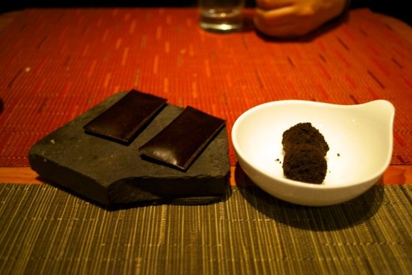 Cocoa packets and chocolate shortbread, milk ice cream at WD~50.jpg