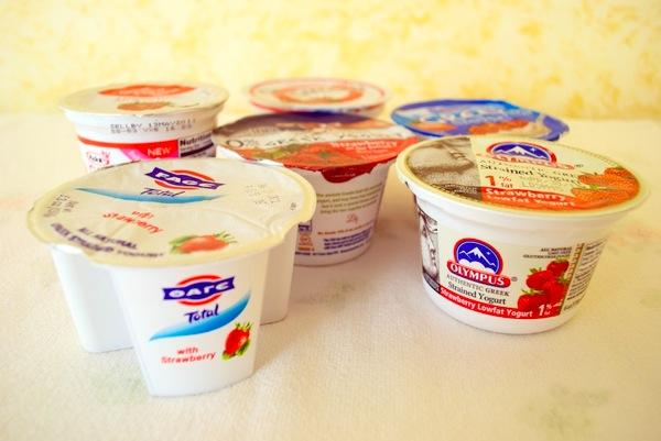 Fage Chobani Dannon Olympus Brown Cow Yoplait Greek yogurt 2