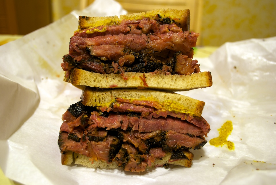 Pastrami sandwich at Katz s Deli