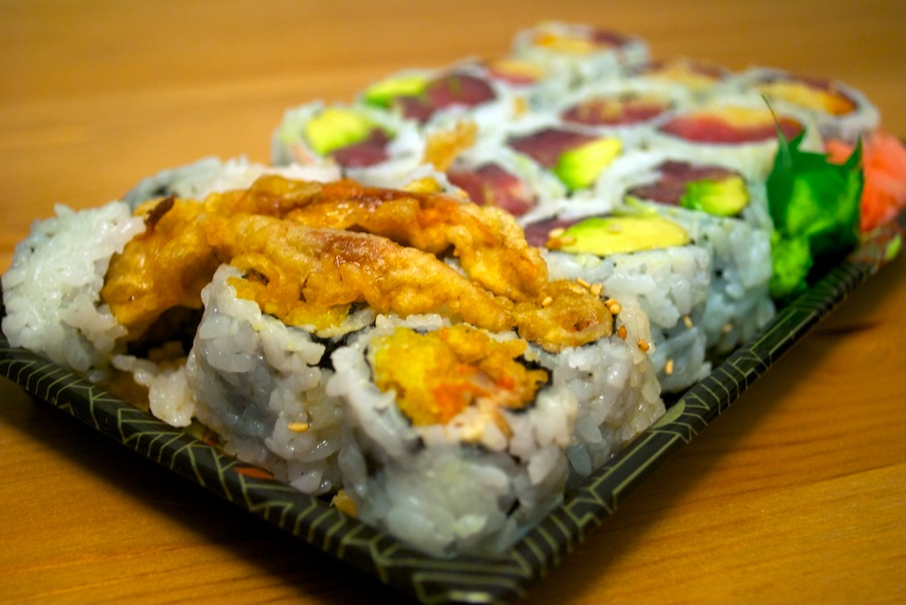 Spider roll from Yoyogi