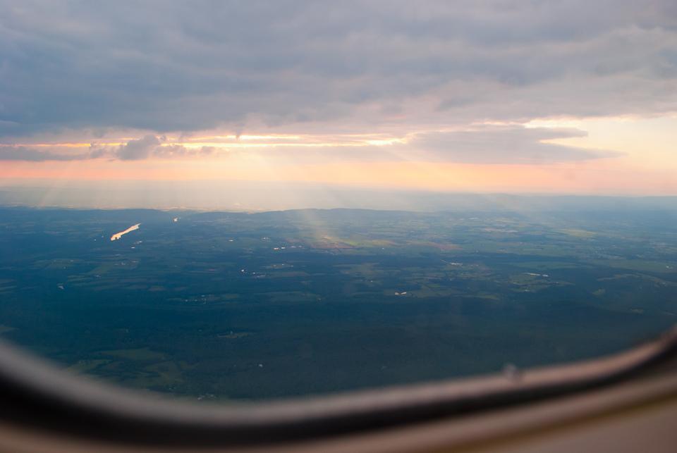 Leaving France