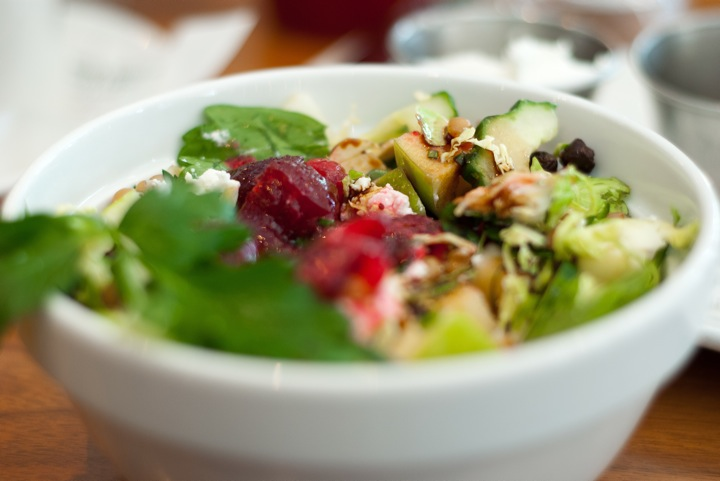 New England chopped salad at Heirloom
