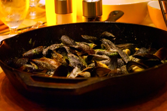Mussels at Food Wine and Co